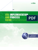 TechExcel ITIL Implementation Guide