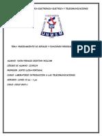 1° informe introduccion a las telecomunucaciones