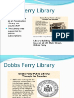 Dobbs Ferry Library Powerpoint