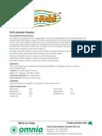 FA75 (Soluble Powder)