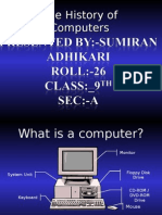 History of Computers 513