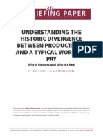 Understanding Productivity Pay Divergence Final