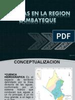 CUENCAS HIDROGRAFICAS DE LAMBAYEQUE