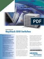 Nortel BayStack 5510 Switches