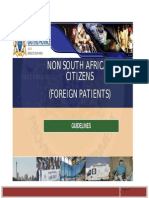 Final Draft Non South African Citizens Foreign Patients 26 June 2013