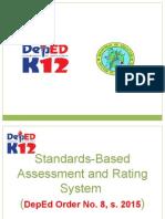 Assessment Under the K to 12 for TLE TEACHERS