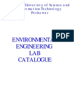 Environmental Lab Catalogue