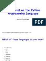 Python Tutorial Feb 152012