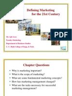 Defining Marketing in 21st Century