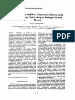 27 - Pengendalian Stabilitas Generator Sinkron Pada Sistem Tenaga Listrik Dengan Jaringan Syaraf Tiruan