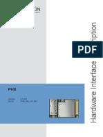 Cinterion PH8 Hardware Interface Description