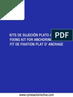 05d Kit Plato Anclaje Rymeautomotive 2015