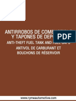 10 Antirrobos Combustible Tapones Rymeautomotive 2015