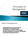 Principles of Management Sem 1 Slides