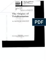 Hannah Arendt - The Origins of Totalitarianism