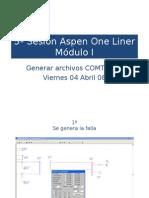 Manejo Del Aspen One Liner 5a Sesion Viernes ARCHIVOS COMTRADE
