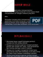 Takrif Buli