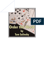 Tom Salinsky - Order This World