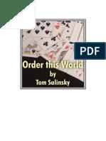 Tom Salinsky - Order This World