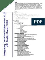 Integrating QTP 10 With QC 10