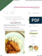 The Best Oven-Fried Chicken Aka KFC Copycat _Fried_ Chicken - The Recipe Rebel