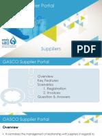 GSP Presentation Suppliers