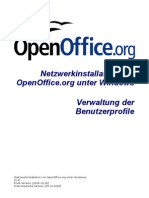 OpenOffice.org - Netzwerkinstallation unter Windows