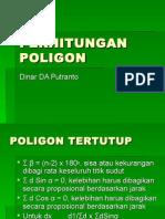 PERHITUNGAN POLIGON
