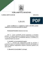 Legea 184.2001