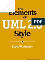 The Elements of UML 2.0 Style