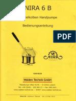 Nira 6B-Manual