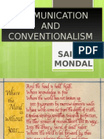 Communication and Conventionalism