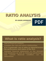 Ratio Analysis by Svm