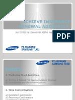 Achieve Insurance Renewal Adequately