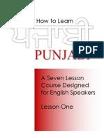 How to Learn Punjabi
