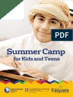 Leaflet SummerCamp