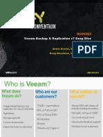 VMworld 2013 - Veeam Backup & Replication v7 Deep Dive
