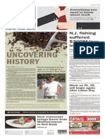 Asbury Park Press front page, September 7, 2015