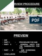SSB INTERVIEW PROCEDURE-17.ppt