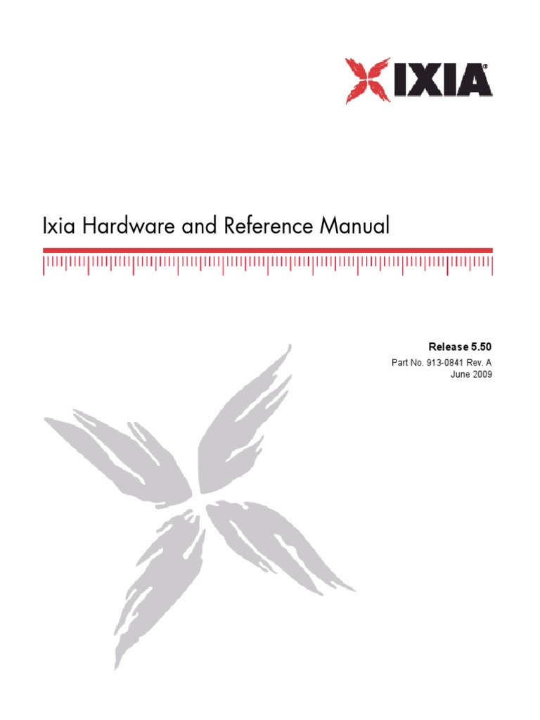 i Xia Reference Guide | Network Packet | Ethernet