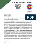 5 September 2015 CGOAL Letter to Senate Committee on ENR