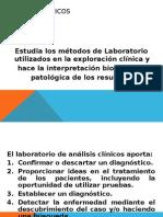 Analisis Clinicos 1. 1. Estudio de La Sangre 2015 i
