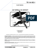 T.O. 1A-10C-1 Flight Manual USAF Series a 10C 2012