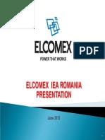 ELC IEA Prezentare June 2013
