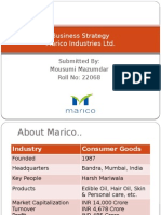 Business Strategy Marico