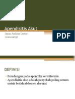 Apendisitisakutkronik 130922214348 Phpapp02 (1)