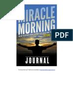 TMM 2013 Journal-Sample