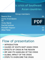 The Southeast-Asian Financial Crisis