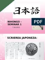 NIHONGO+–+SEMINAR+1
