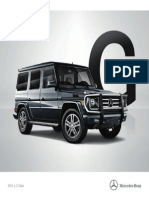 Mercedes G 63 AMG 2015 Misc Documents-Brochure